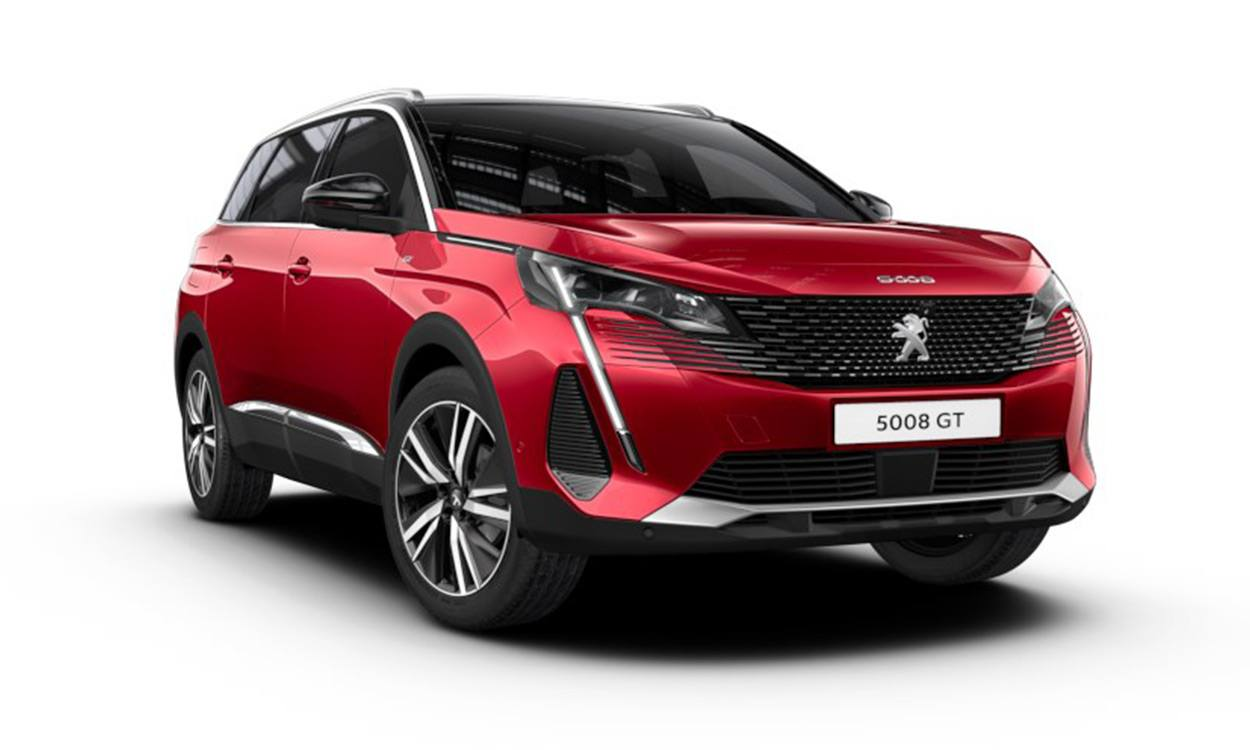 Peugeot 5008 Crossover 1.2 Puretech GT EAT8 Lease (July Delivery)