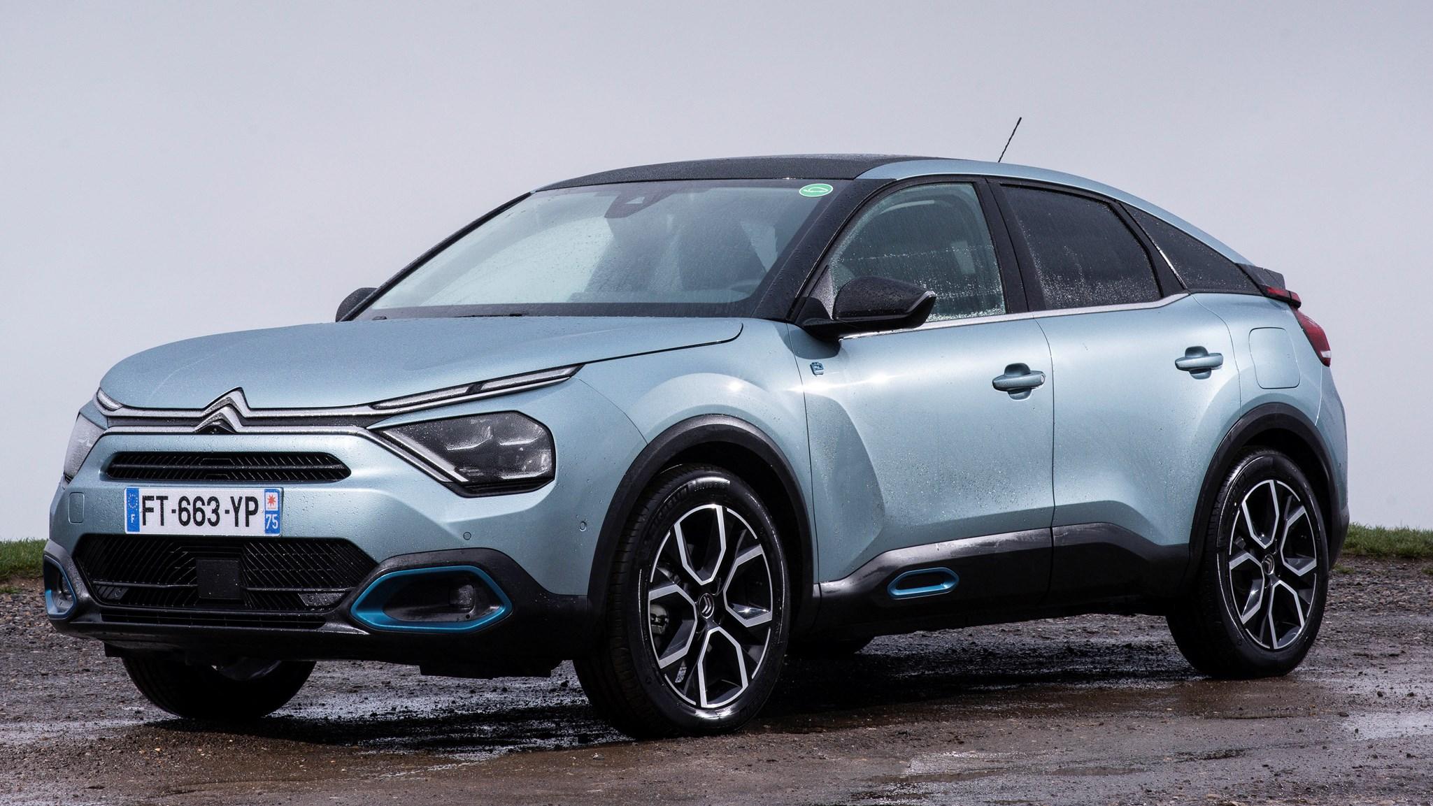 Citroen e-C4 Hatchback 100kw Shine Plus 50kWh Auto in stock